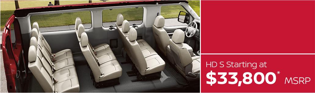 2017 Nissan NV Passenger MSRP & MPG