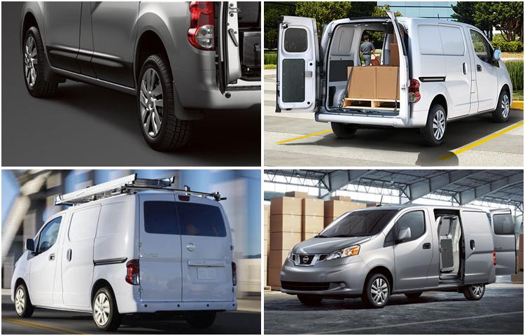 2017 Nissan NV200 Compact Cargo Exterior Design