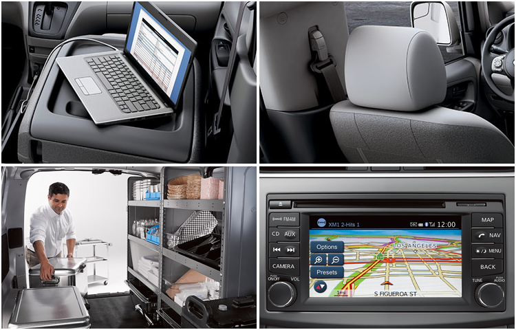 2017 Nissan NV200 Compact Cargo Interior Features