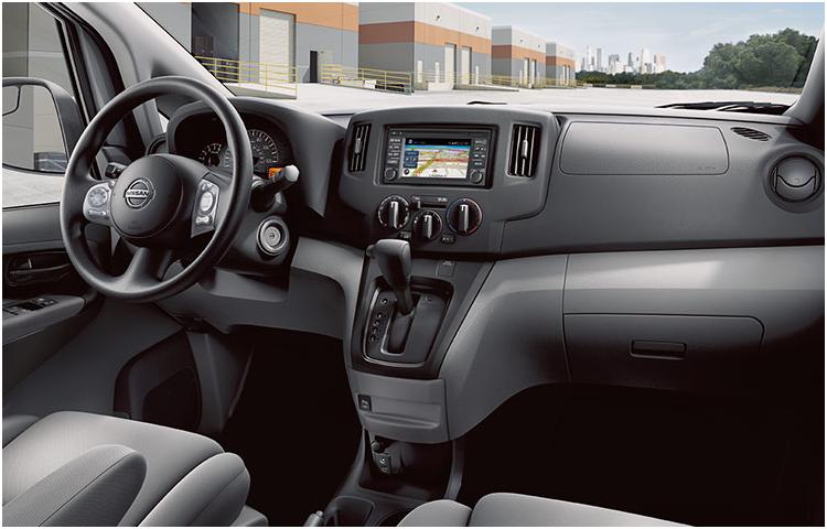 2017 Nissan NV200 Compact Cargo Interior Style