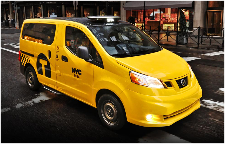 2017 Nissan NV200 Taxi Exterior Features