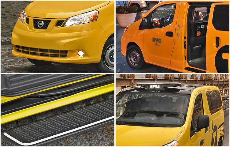 2017 Nissan NV200 Taxi Exterior Style