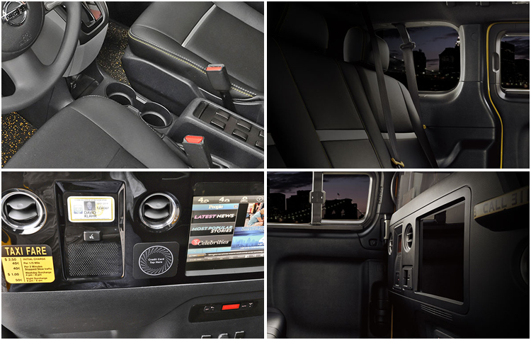 2017 Nissan NV200 Taxi Interior Design