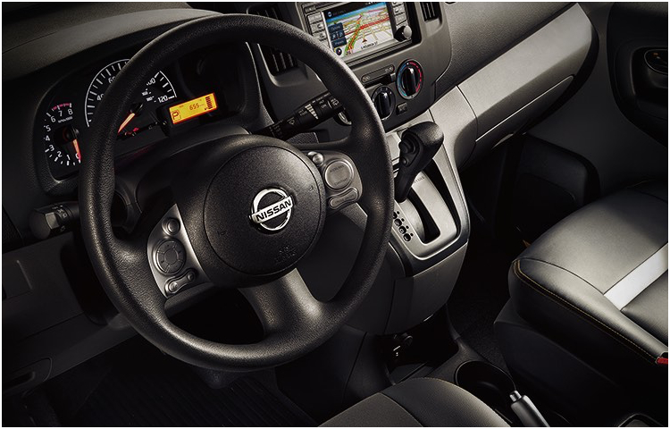 2017 Nissan NV200 Taxi Interior Features