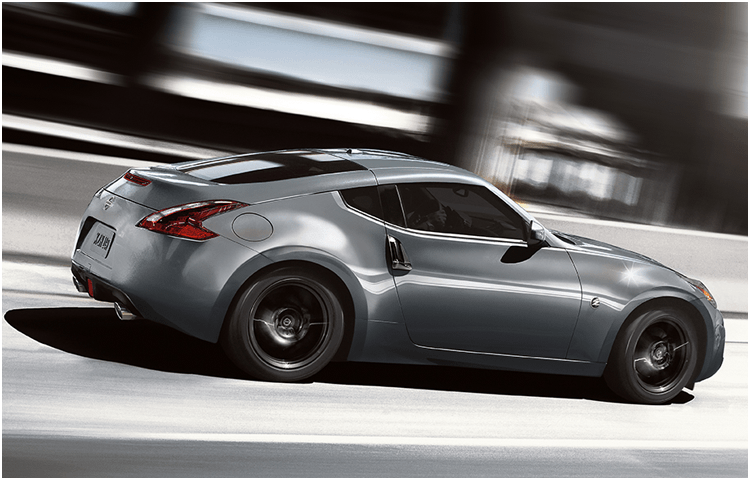 2018 Nissan 370Z Coupe sports car exterior features
