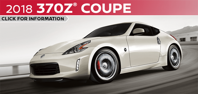 Research the 2018 370Z Coupe model at Barberino Nissan in Wallingford, CT