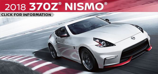 Research the 2018 370Z Nismo model at Barberino Nissan in Wallingford, CT