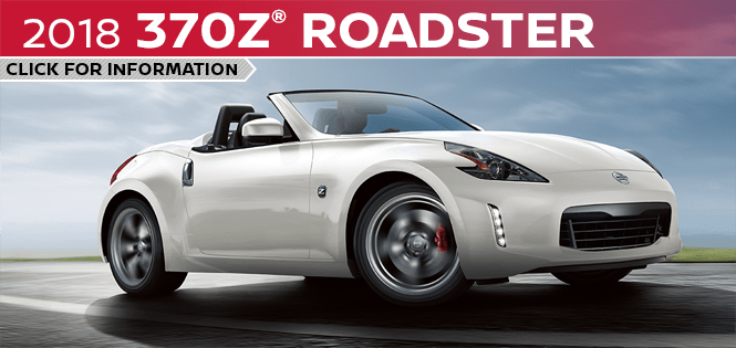 Click to learn more about the new 2018 Nissan 370z Roadster model