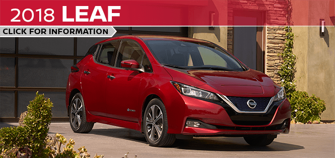 Research the 2018 Leaf model at Barberino Nissan in Wallingford, CT