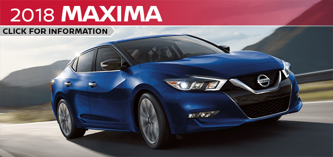 Click to learn more about the new 2018 Nissan Maxima model