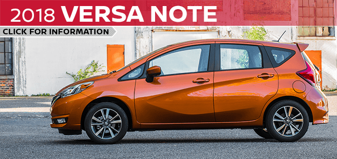 Research the 2018 Versa Note model at Barberino Nissan in Wallingford, CT