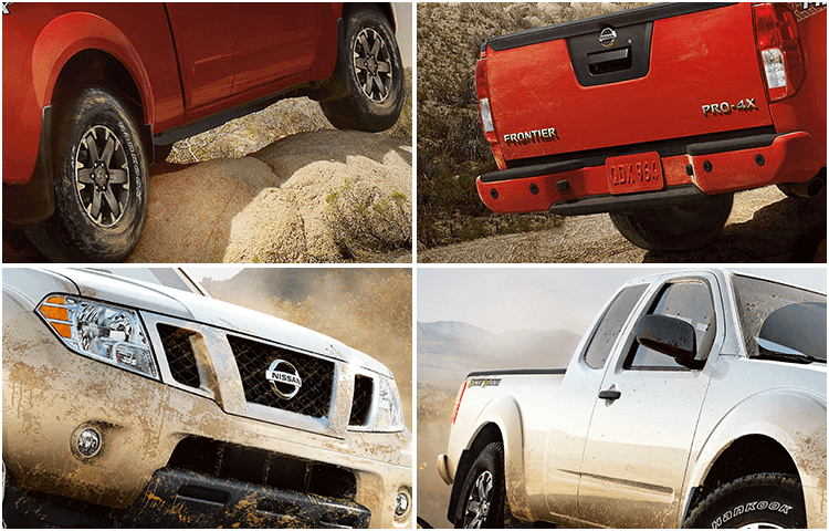 2018 Nissan Frontier midsize truck exterior styling