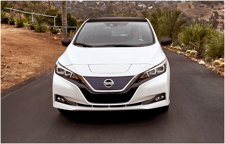 New 2018 Nissan Leaf Exterior Styling