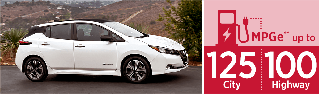 New 2018 Nissan Leaf MSRP & MPG Information