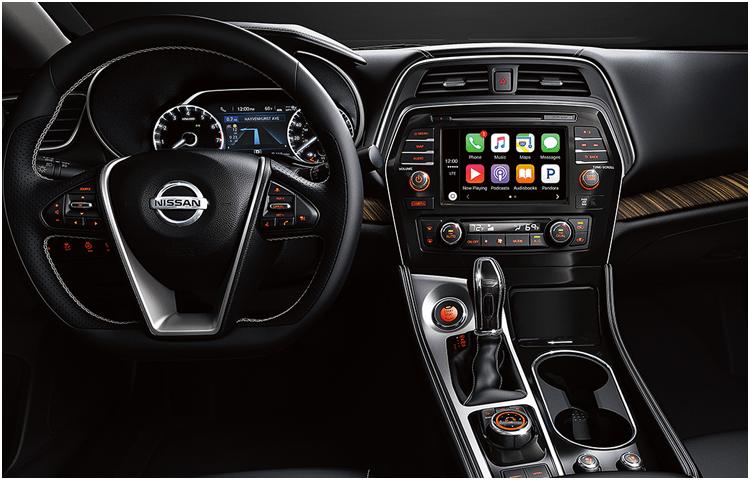 2018 Nissan Maxima Interior Styling