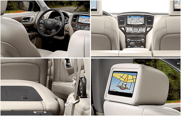 New 2018 Nissan Pathfinder Interior Styling