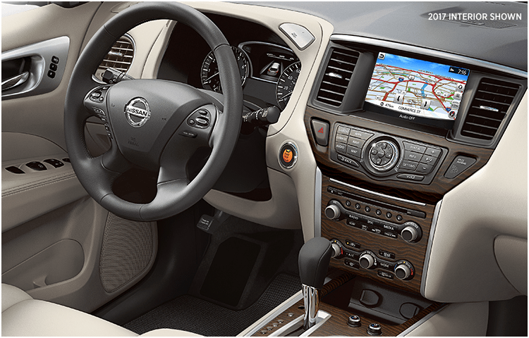 New 2018 Pathfinder Interior Styling