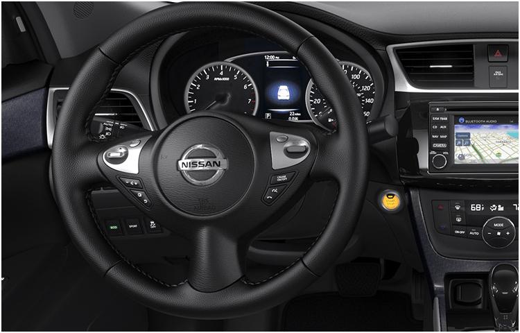 2018 Nissan Sentra Interior Style