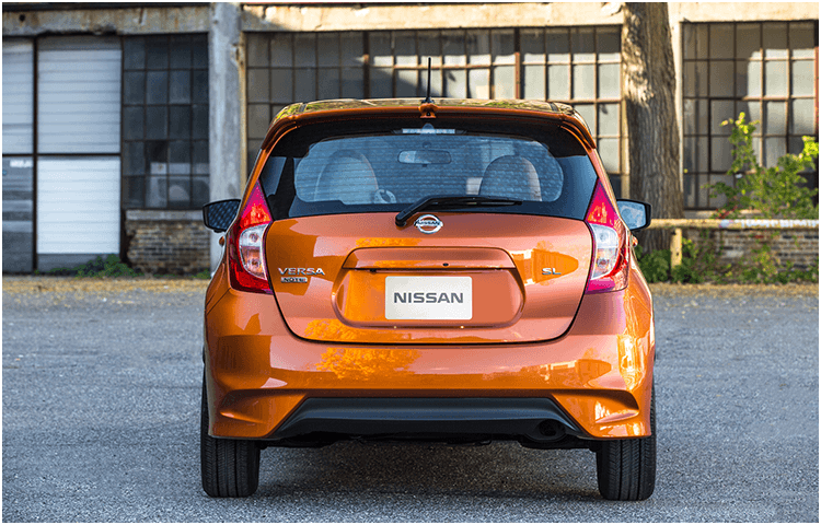 2018 Nissan Versa Note exterior styling