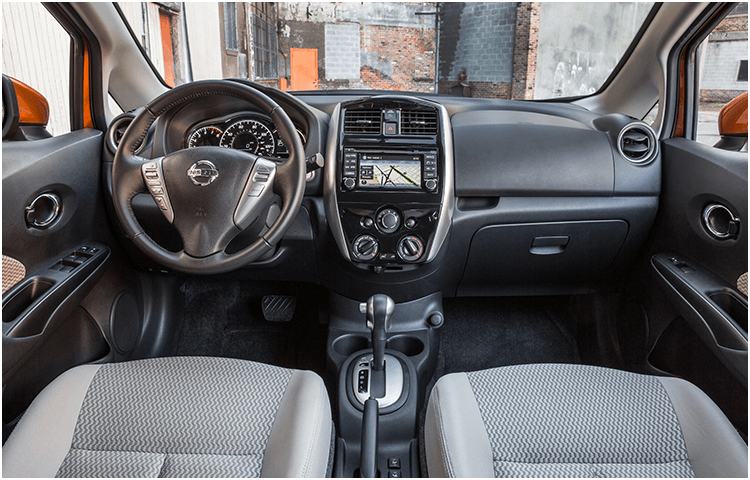 Learn about the 2018 Nissan Versa Note interior design