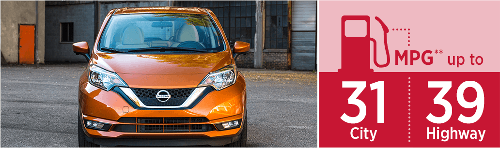 2018 Nissan Versa Note Pricing & EPA Estimated Mileage