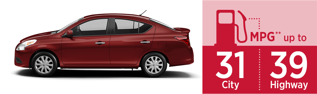 New 2018 Nissan Versa MSRP & MPG Information