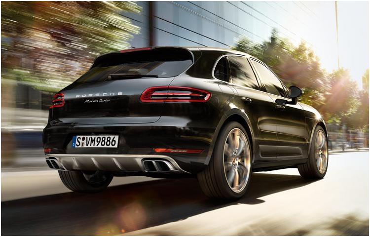 2017 Porsche Macan exterior design