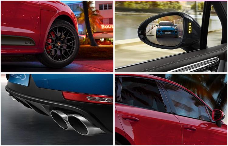 2017 Porsche Macan exterior style & features
