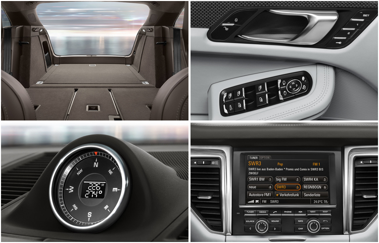 2017 Porsche Macan interior design