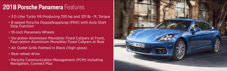 Performance Sedan for Phoenix, Arizona: The 2018 Porsche