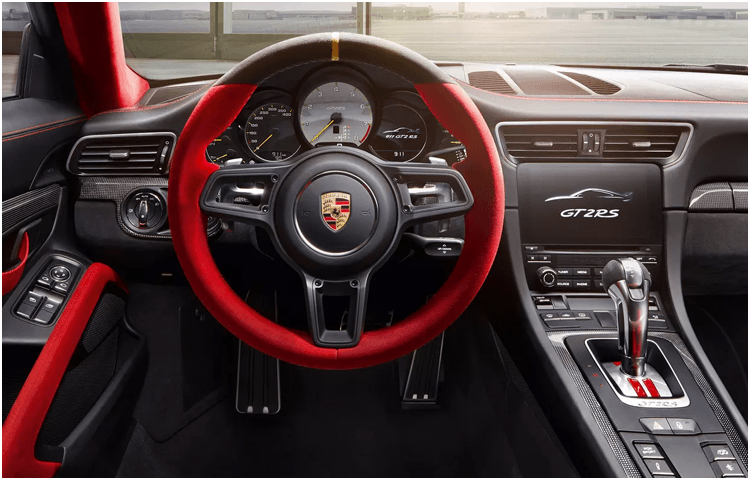 2019 Porsche 911 GT2 RS interior features