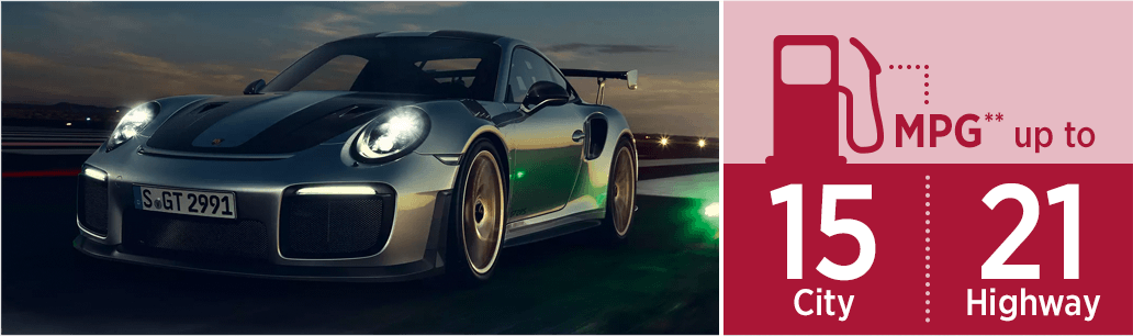 2019 Porsche 911 GT2 RS model mileage and pricing