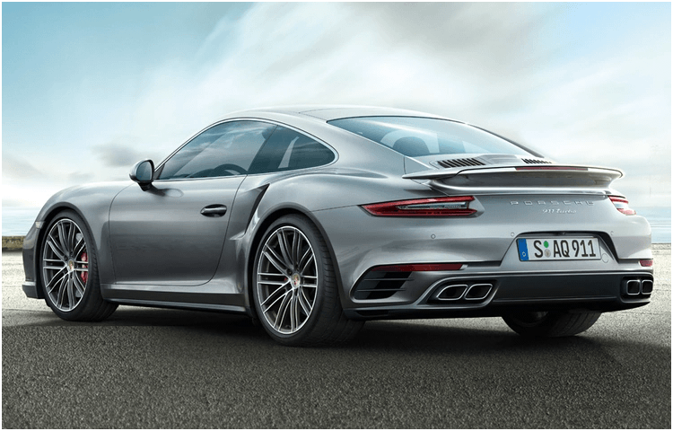 2019 Porsche 911 Turbo Exterior Styling