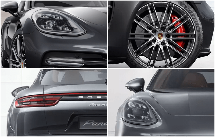 2019 Panamera Turbo Exterior Design