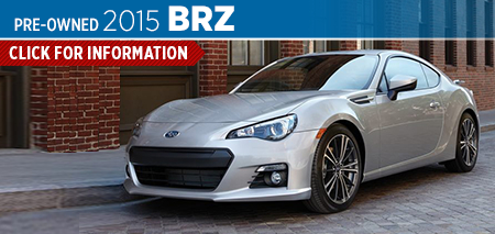 Click to See The 2015 Subaru BRZ Model in Salt Lake City, UT
