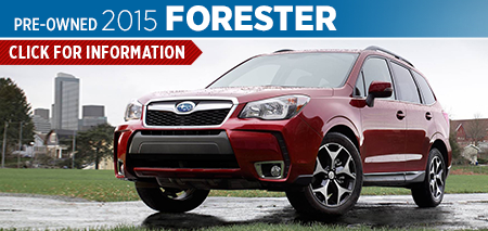 View details on the New 2015 Subaru Forester at Nate Wade Subaru
