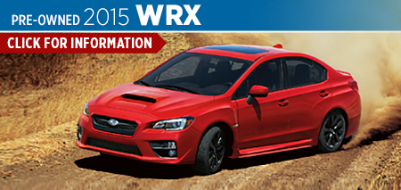 View details on the New 2015 Subaru WRX at Nate Wade Subaru