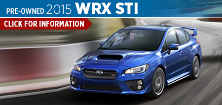Review details of the 2015 Subaru WRX STI