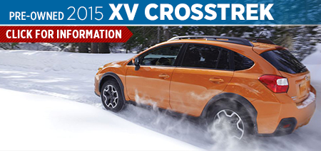 Click to See The 2015 Subaru XV Crosstrek Model in Salt Lake City, UT