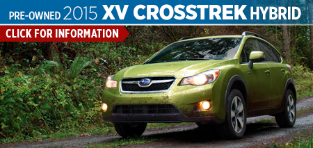 Click to View the 2015 Subaru XV Crosstrek Hybrid Model Information Page