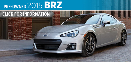 Find out more about the thrilling certified pre-owned 2015 Subaru BRZ sports coupe available now at Mike Scarff Subaru in Auburn serving Seattle, WA