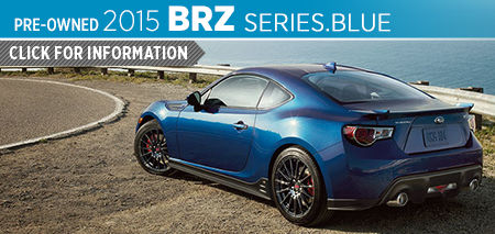 Click For Details on The 2015 Subaru BRZ Series.Blue Model Serving Tacoma, WA
