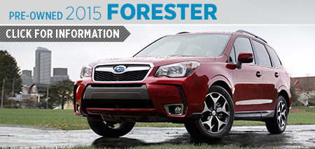 Click to View 2015 Subaru Forester Model Information Mike Scarff Subaru