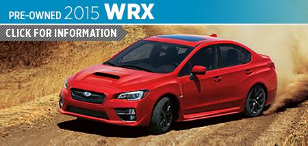 Click For Details on The 2015 Subaru Impreza WRX Model Serving Tacoma, WA