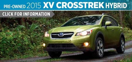Click For Details on The 2015 Subaru XV Crosstrek Hybrid Model Serving Tacoma, WA