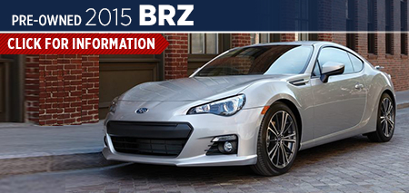 Click to View 2015 Subaru BRZ Model Information Carlsen Subaru