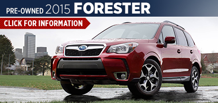 Click to View 2015 Subaru Forester Model Information Carlsen Subaru