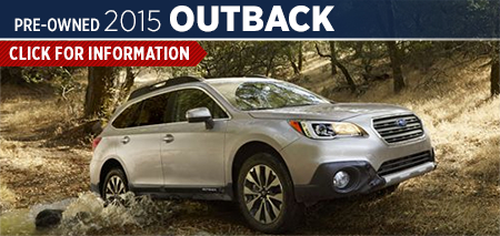 Click to View 2015 Subaru Outback Model Information Carlsen Subaru