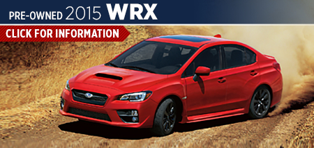 Click to See The 2015 Subaru Impreza WRX Model in Redwood City, CA
