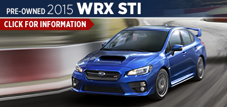 Click to View 2015 Subaru WRX STI Model Information Carlsen Subaru